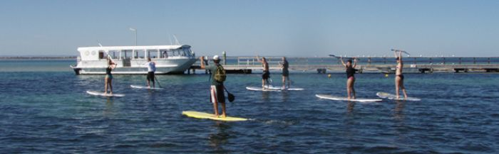 STAND UP PADDLEBOARDING - Lesson Availability