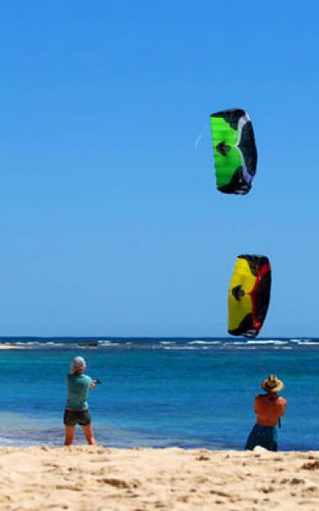 Have a Taste of Kiteboarding